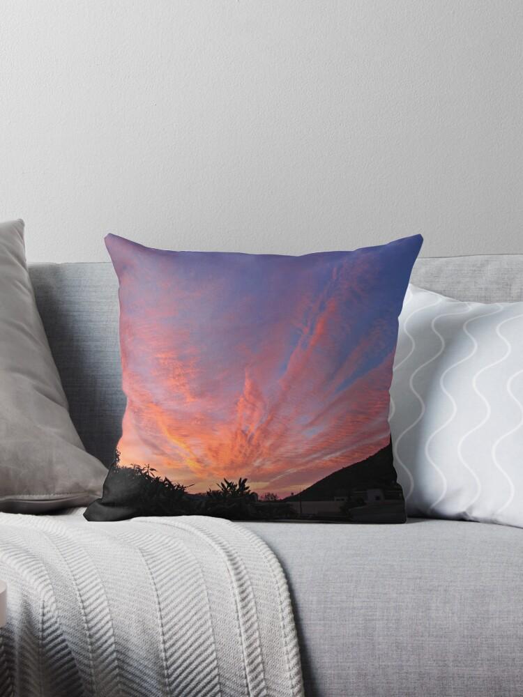 Sunset skies - Tote bag by Lee Jones