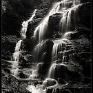Sylvia Falls, Blue mountains, Australia by Andrew Croucher