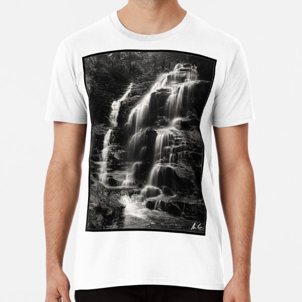 Sylvia Falls, Blue mountains, Australia Premium T-Shirt