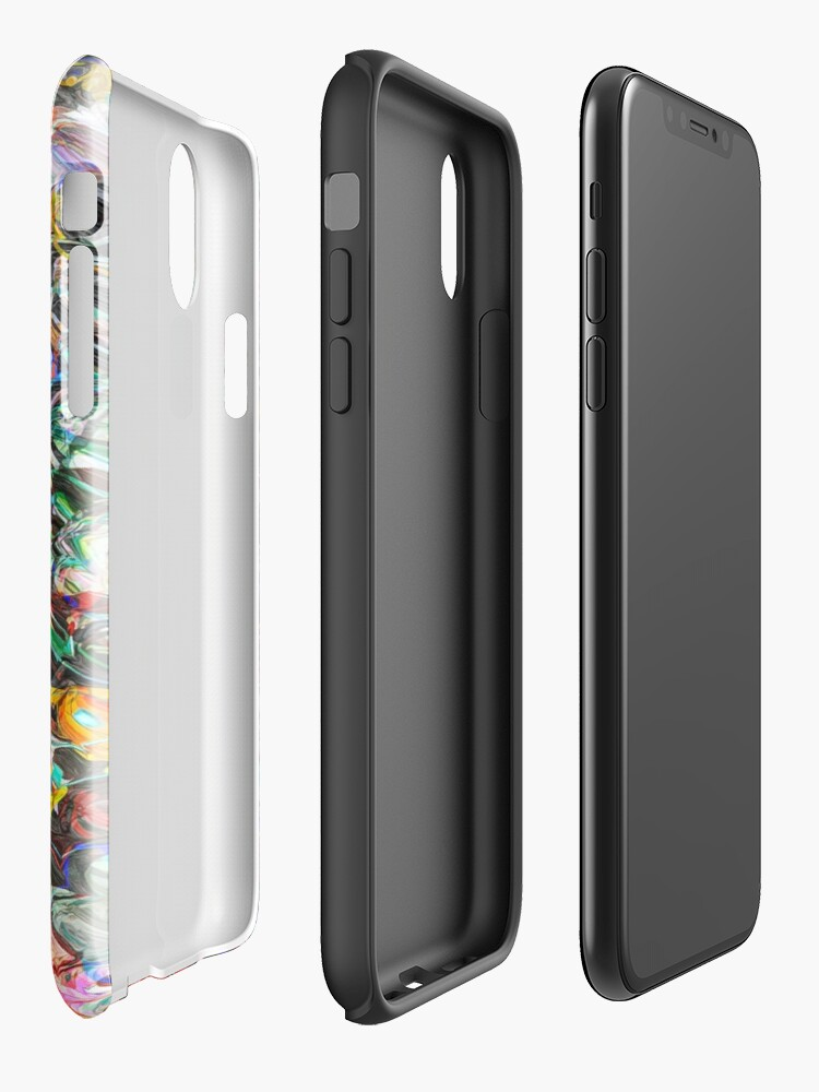 Alternate view of Texture And Colors iPhone Case & Cover
