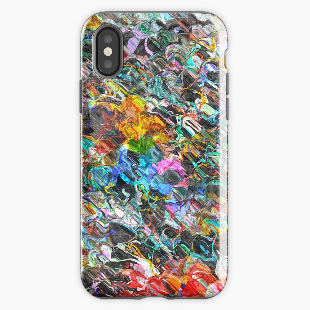Texture And Colors iPhone Case & Cover