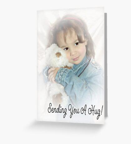 Sending You A Hug Greeting Card