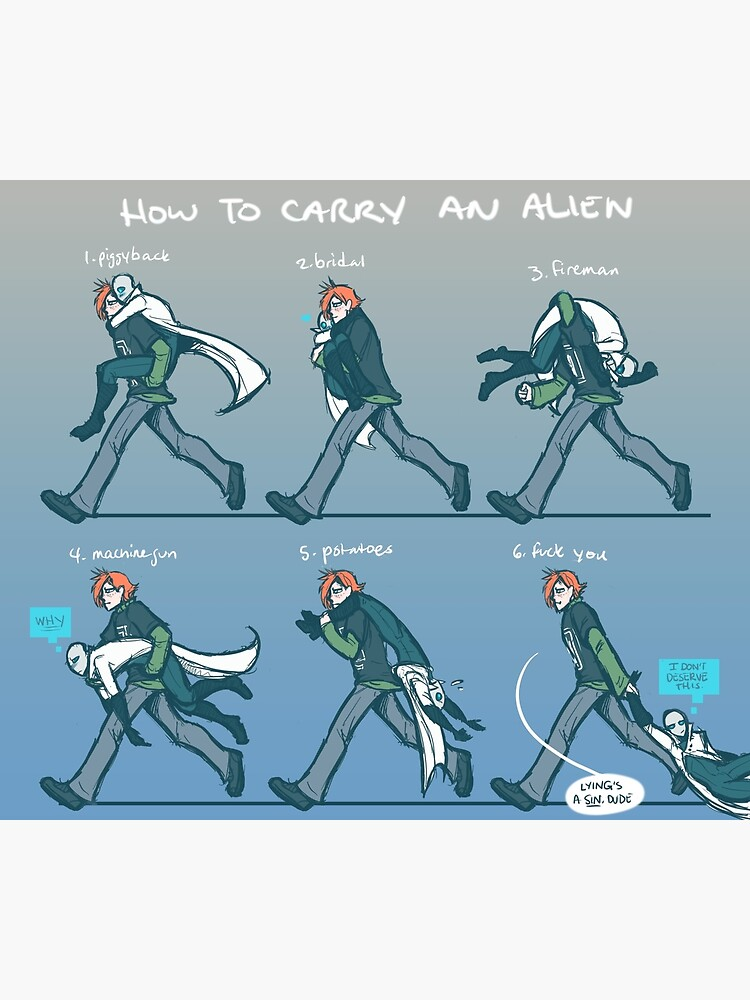 how to carry an alien by critical-error