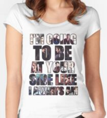 Merthur quote Women's Fitted Scoop T-Shirt