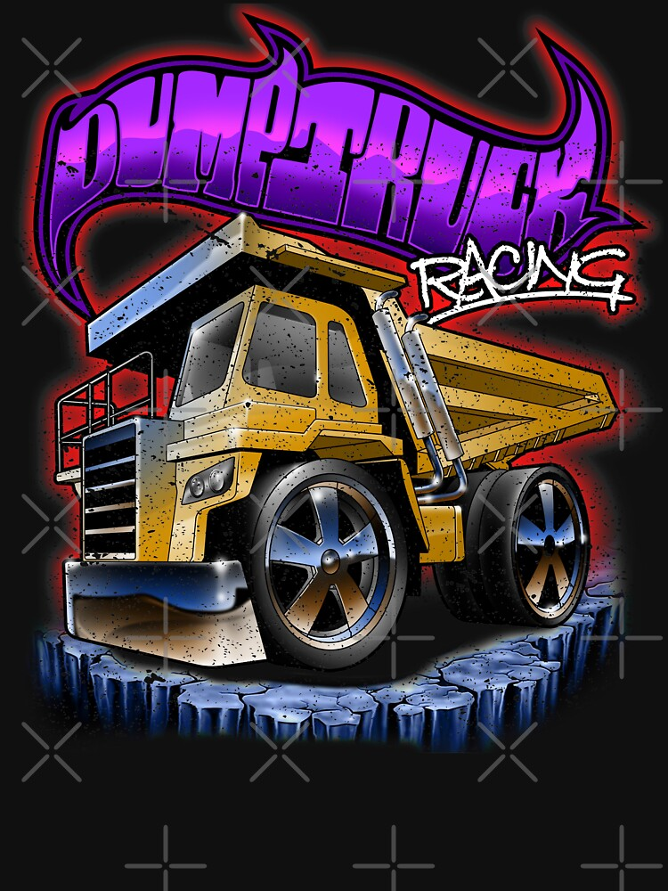 Dump Truck Racing Digger Dumper Toy by thespottydogg