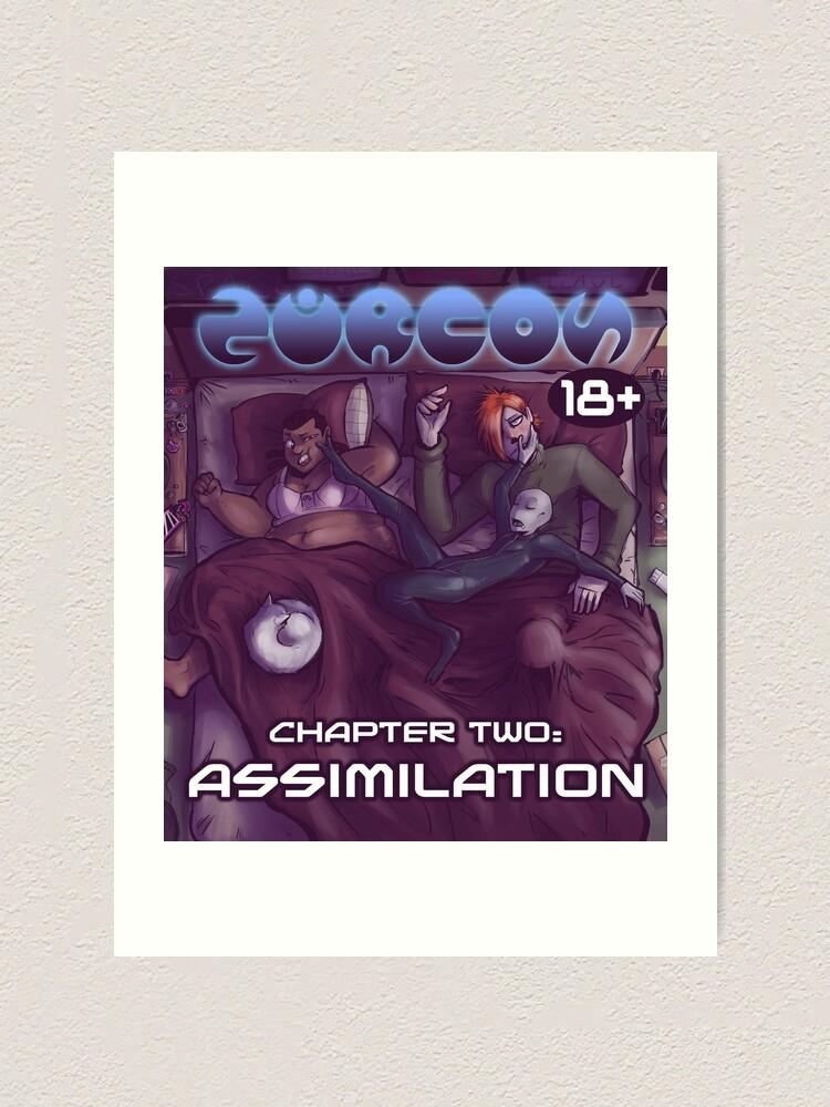 Alternate view of chapter 2 cover (v1) Art Print
