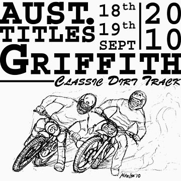 Griffith's Pines Speedway Hosts The 2010 Australian Classic Dirt Track Titles by MikeLee