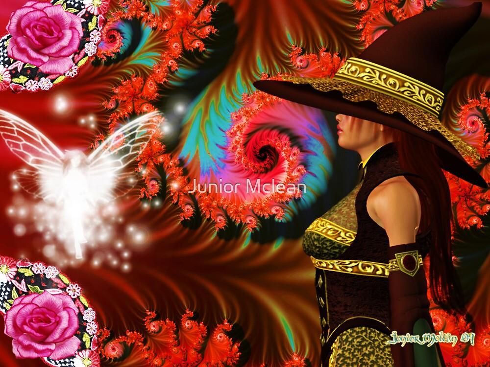 Dark Magician Girl: Enchanted by Junior Mclean