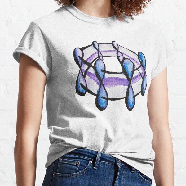 Benzene Molecule Pattern Organic Chemistry Classic T-Shirt