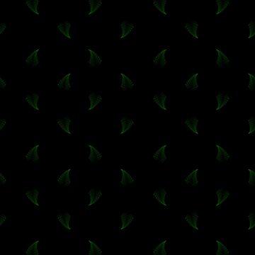Fractal Fern Seamless Pattern I by shane22