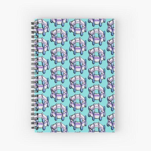 Benzene Molecule Pattern Organic Chemistry Spiral Notebook