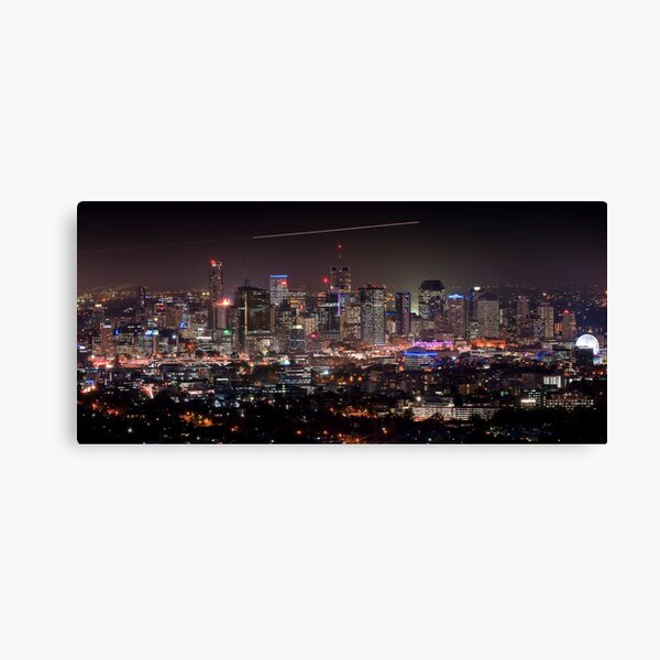 Brisbane City, Australia Canvas Print