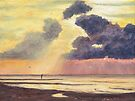 Beach of Holland by Maria Meester