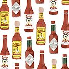 Spicy hot sauce pattern vertical small by shoshannahscrib