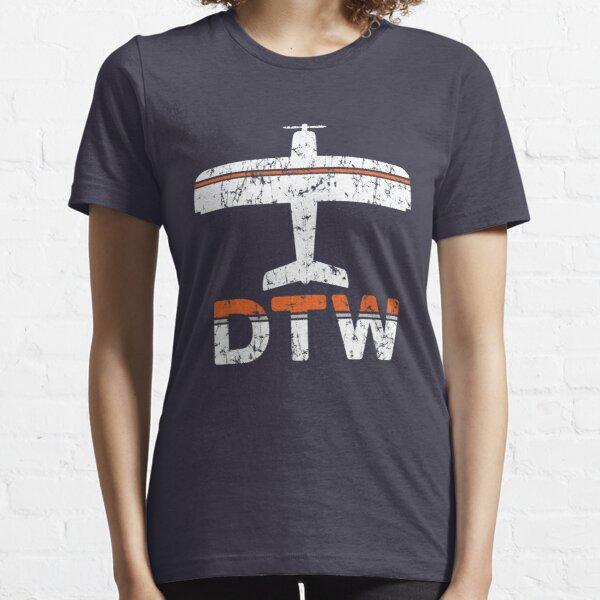 Fly Detroit DTW Airport Essential T-Shirt