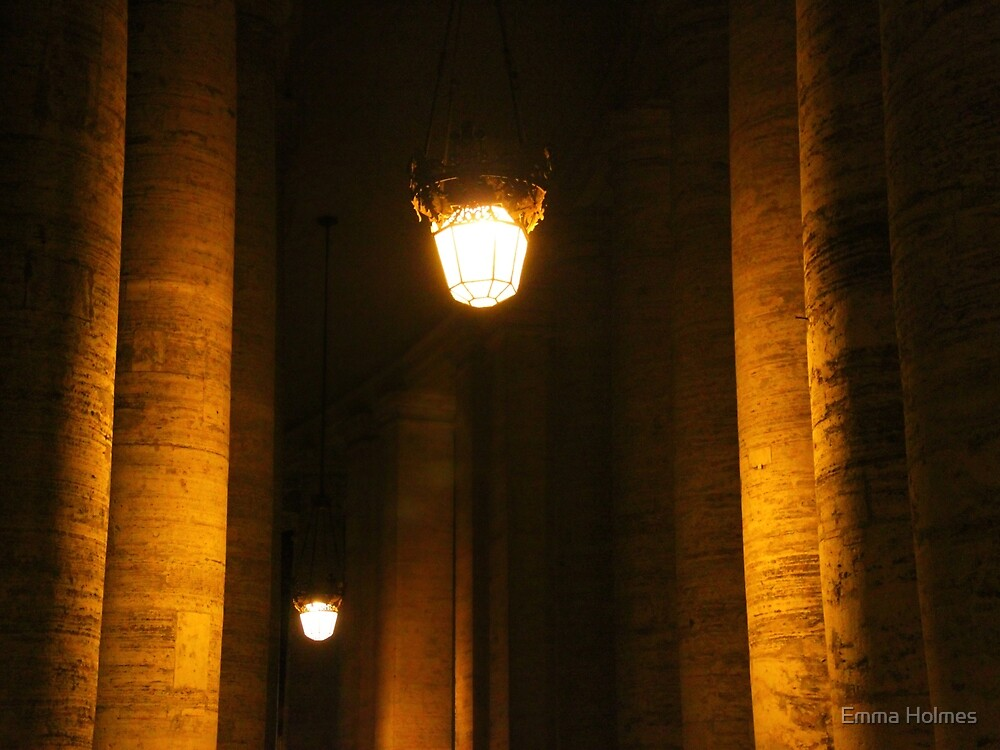 Lighting The Way To Church And Pray by Emma Holmes
