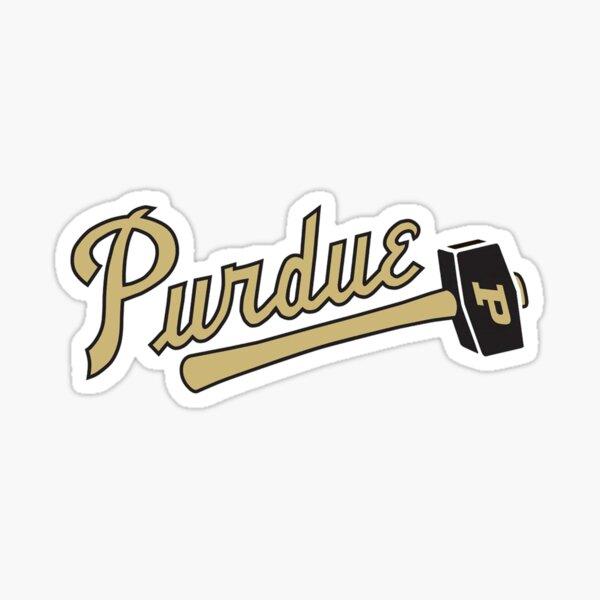 Purdue Hammer Sticker