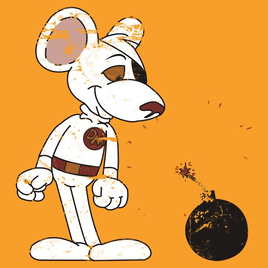 TShirtGifter presents: Danger Mouse