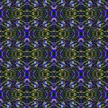 Blue Flower Seamless Pattern II by shane22