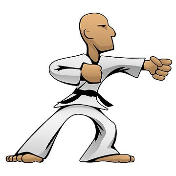 Cool Martial Arts Dude by hobrath