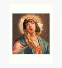 Virgin Mia Art Print