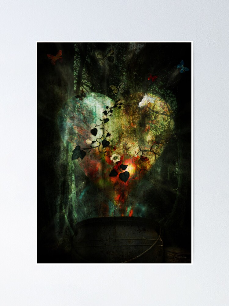 Alternate view of Heart of All Poster