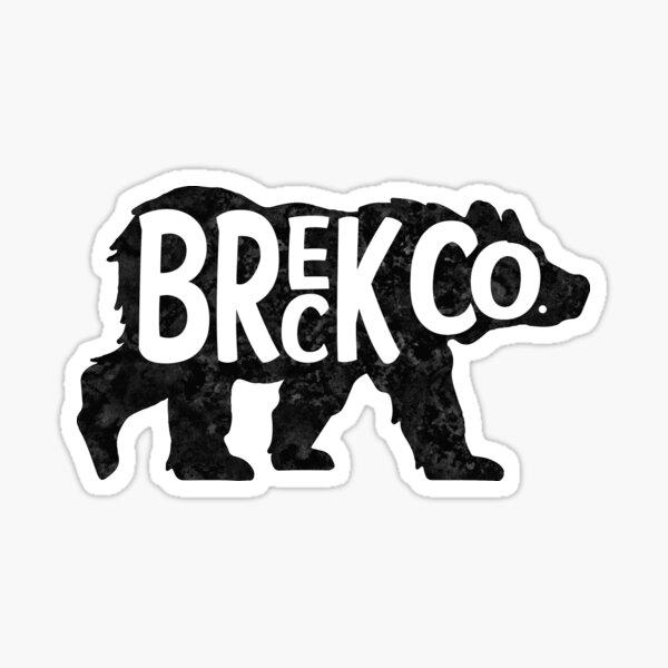 Skiing Breck Breckenridge Ski Colorado Bear Sticker