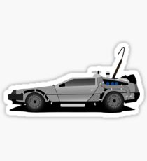 The DeLorean Time Machine, Back to the Future Sticker