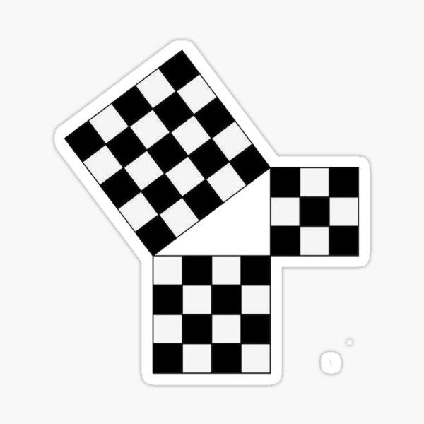 47th Problem of Euclid Sticker