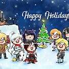 RWBY XMAS by AG Nonsuch