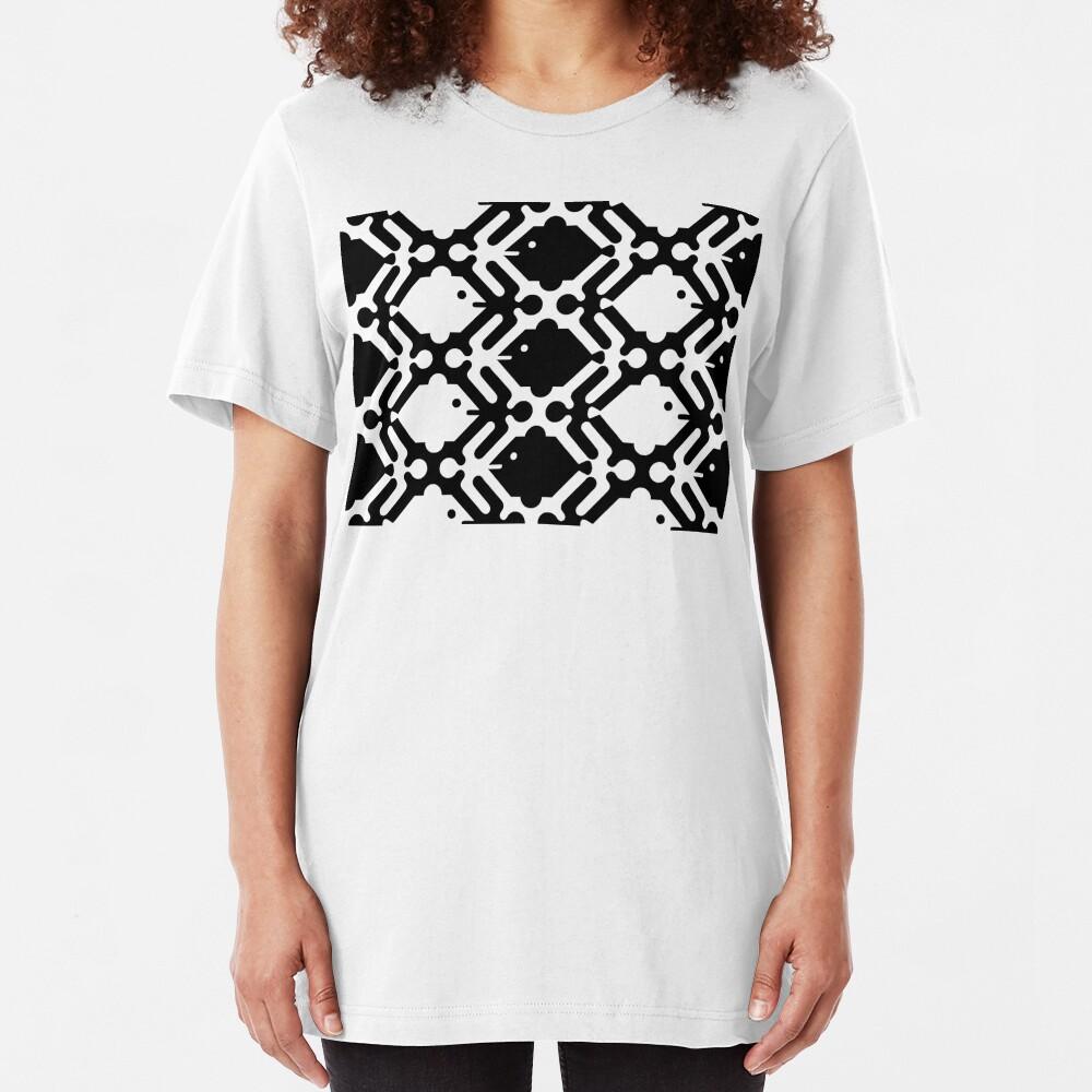 Men Women and Fish Slim Fit T-Shirt