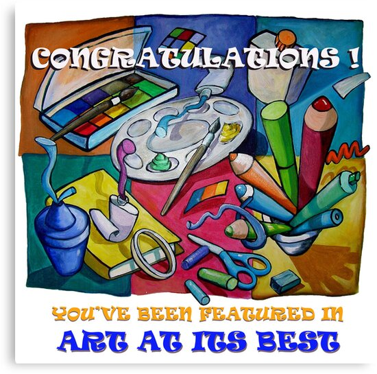 Art at its Best by nancy salamouny