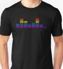 Rainbow Sound Bars T-Shirt