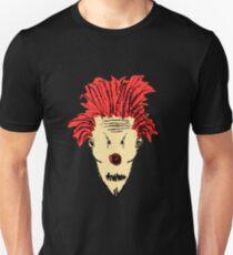 Evil Clown Hand Draw Illustration T-Shirt