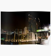 KLCC Fountain  Poster