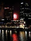 Southbank Fireworks by Emma Holmes