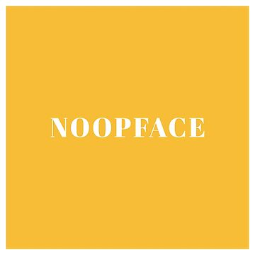 noopface logo by noopface