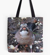 J is for nut Tote Bag