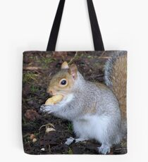 S is for nut too Tote Bag