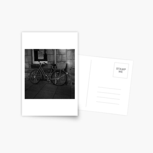 St. Andrews Bicycle Postcard