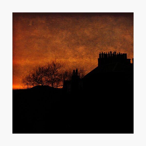 Lum Stack Sunset Photographic Print
