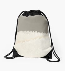 Pale Forest Abstract Drawstring Bag