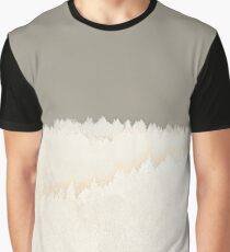 Pale Forest Abstract Graphic T-Shirt