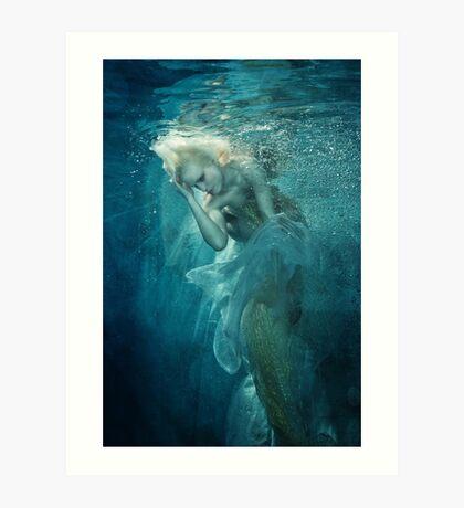 OCEANIC FAIRYTALES - Appearance of the mermaid Art Print