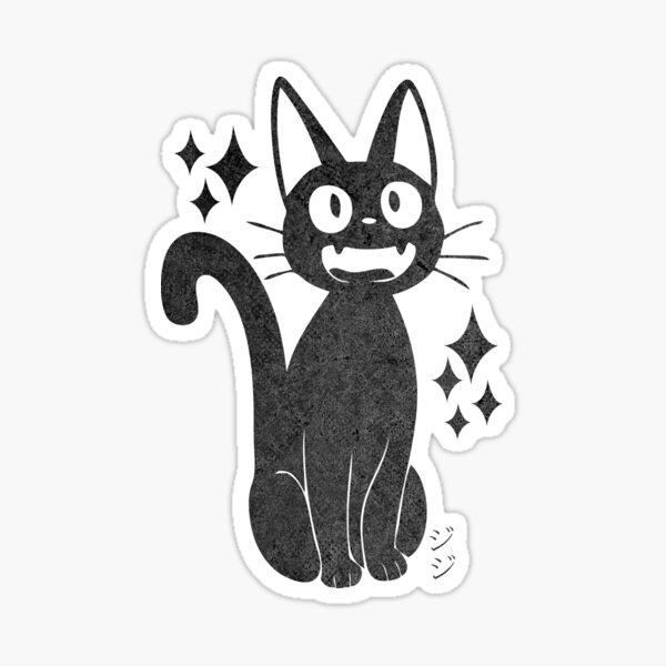 Jiji black cat Sticker