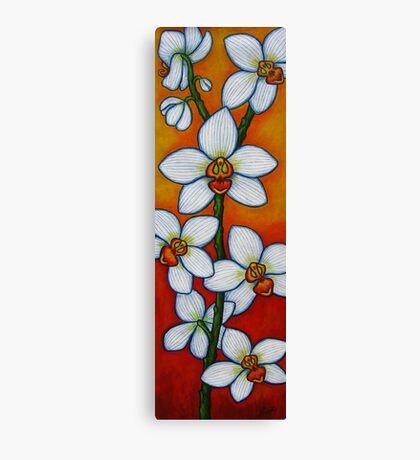 Orchid Oasis Canvas Print