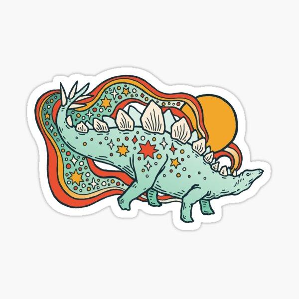 Star Stego   Retro Reptile Palette Sticker
