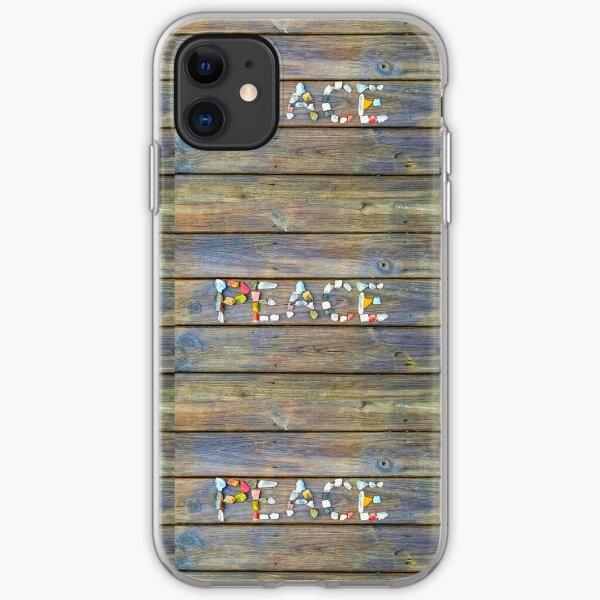 Peace iPhone Soft Case