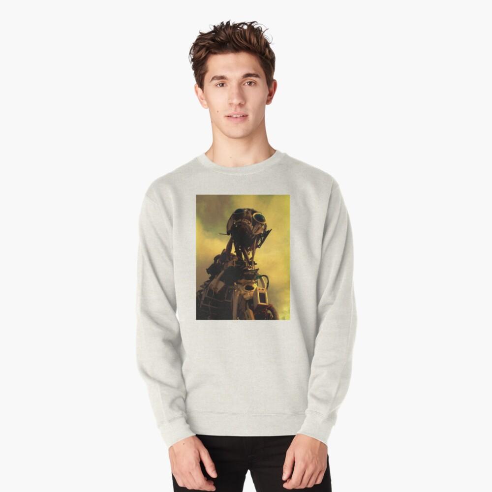 Monster in the Garden of Eden Pullover Sweatshirt