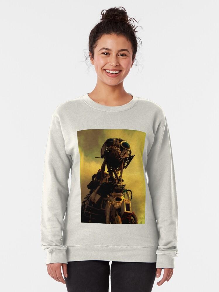 Alternate view of Monster in the Garden of Eden Pullover Sweatshirt